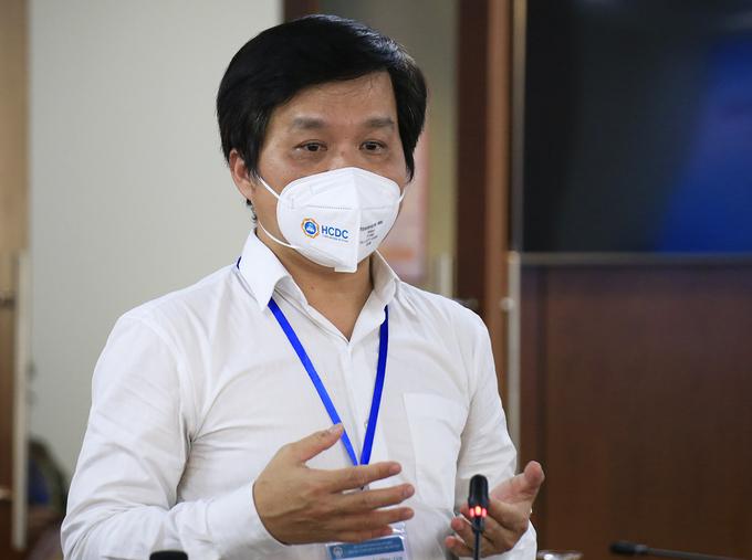 Ông Nguyễn Hồng Tâm, Phó giám đốc phụ trách HDCD. Ảnh: Hữu Công