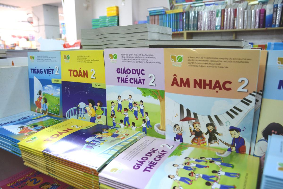 Sách giáo khoa lớp 2 được sử dụng trong năm học 2021-2022. Ảnh:Nhà xuất bản Giáo dục Việt Nam