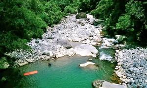 Trekking vượt suối ngắm thảo nguyên ở Tà Giang