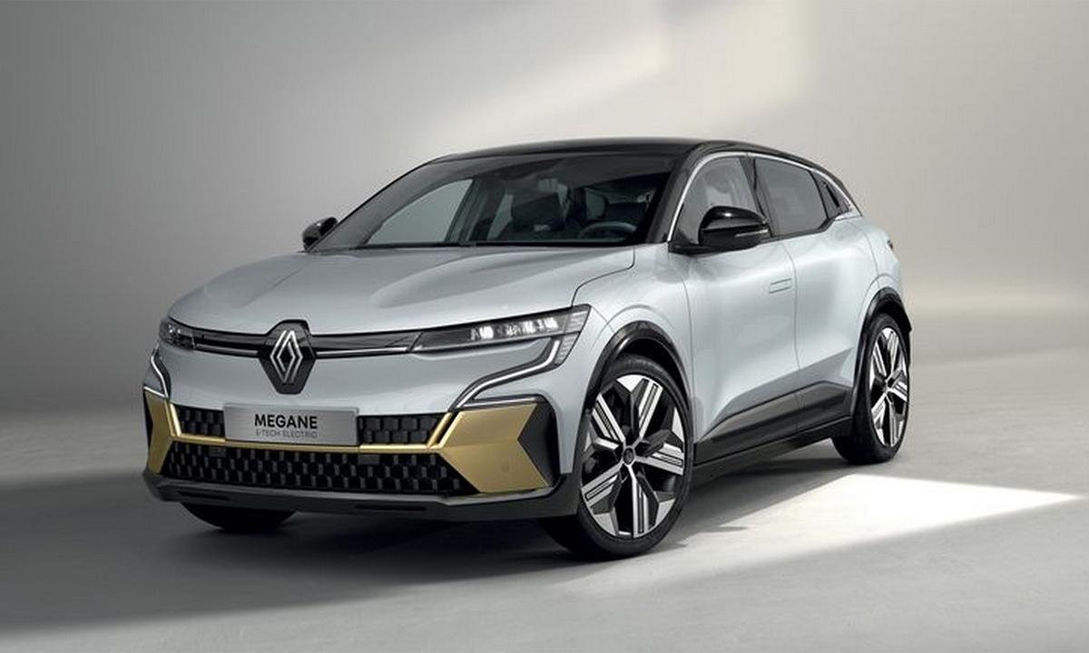 Megane E-Tech 2022 - crossover điện lộ diện. Ảnh: Renault