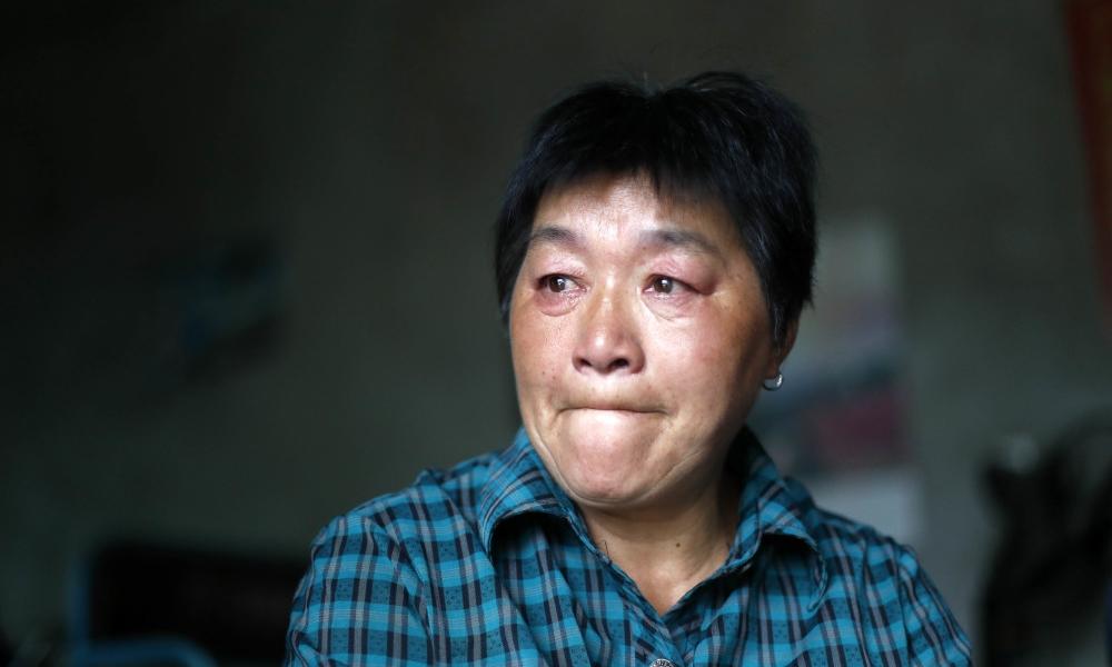 Bà Ngô Xuân Hương tại nhà riêng ở huyện Lạc Tây, tỉnh An Huy, hôm 30/8. Ảnh: QQ