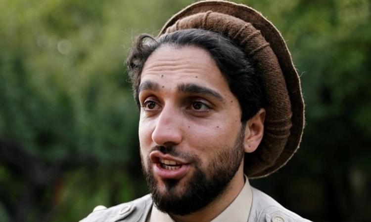Lãnh đạo Mặt trận Kháng chiến Quốc gia Afghanistan Ahmad Massoud. Ảnh: Reuters.