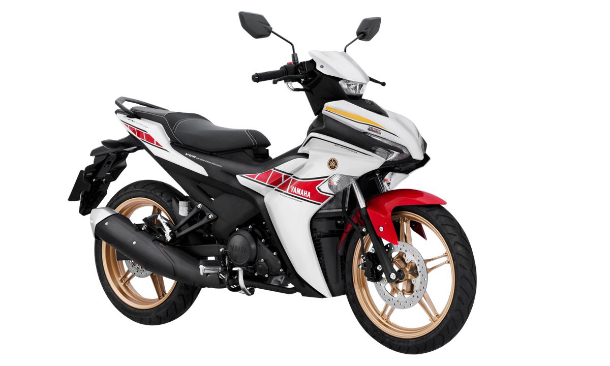 Exciter 155 VVA phiên bản ký niệm 60 năm Yamaha tranh tài MotoGP. Ảnh: Yamaha