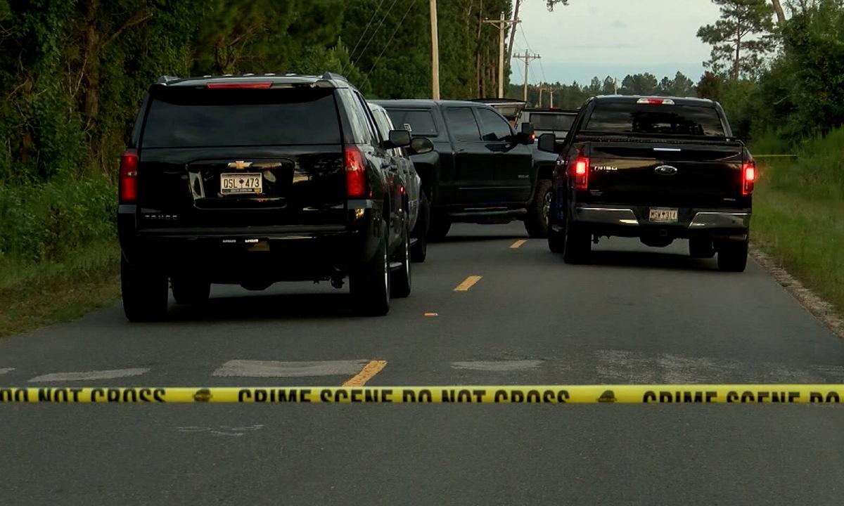 Hiện trường nơi Alex Murdaugh bị bắn hôm 4/9. Ảnh: WTOC.