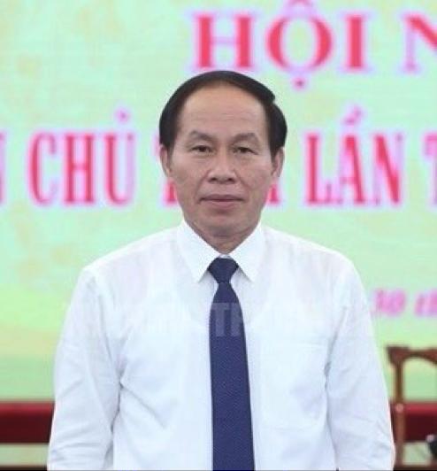 Tổng thư ký Ủy ban Trung ương Mặt trận Tổ quốc Việt Nam Lê Tiến Châu - Ảnh: MTTQ Việt Nam