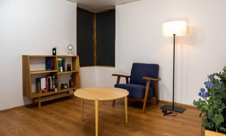 Một trong những phòng sạc điện không dây ở Đại học Tokyo. Ảnh: Đại học Michigan