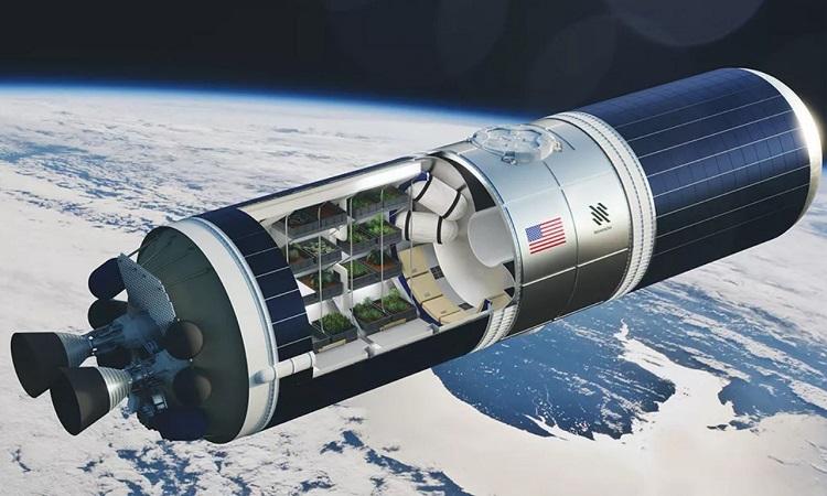 Thiết kế nhà kính không gian bên trong module của Nanoracks StarLab. Ảnh: Nanoracks/Mack Crawford