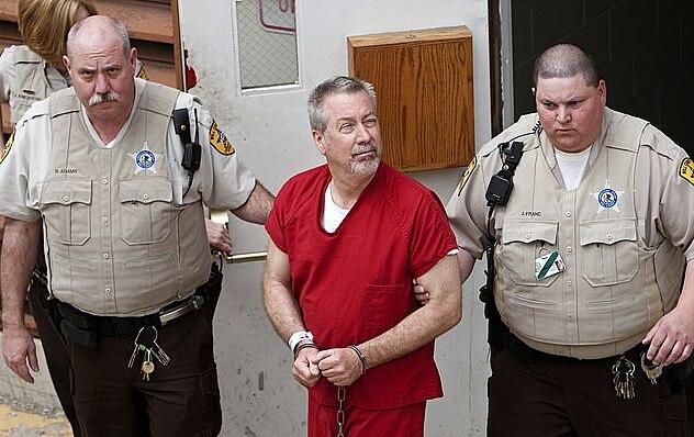 Drew Peterson bị bắt tháng 5/2009. Ảnh: DailymailUK