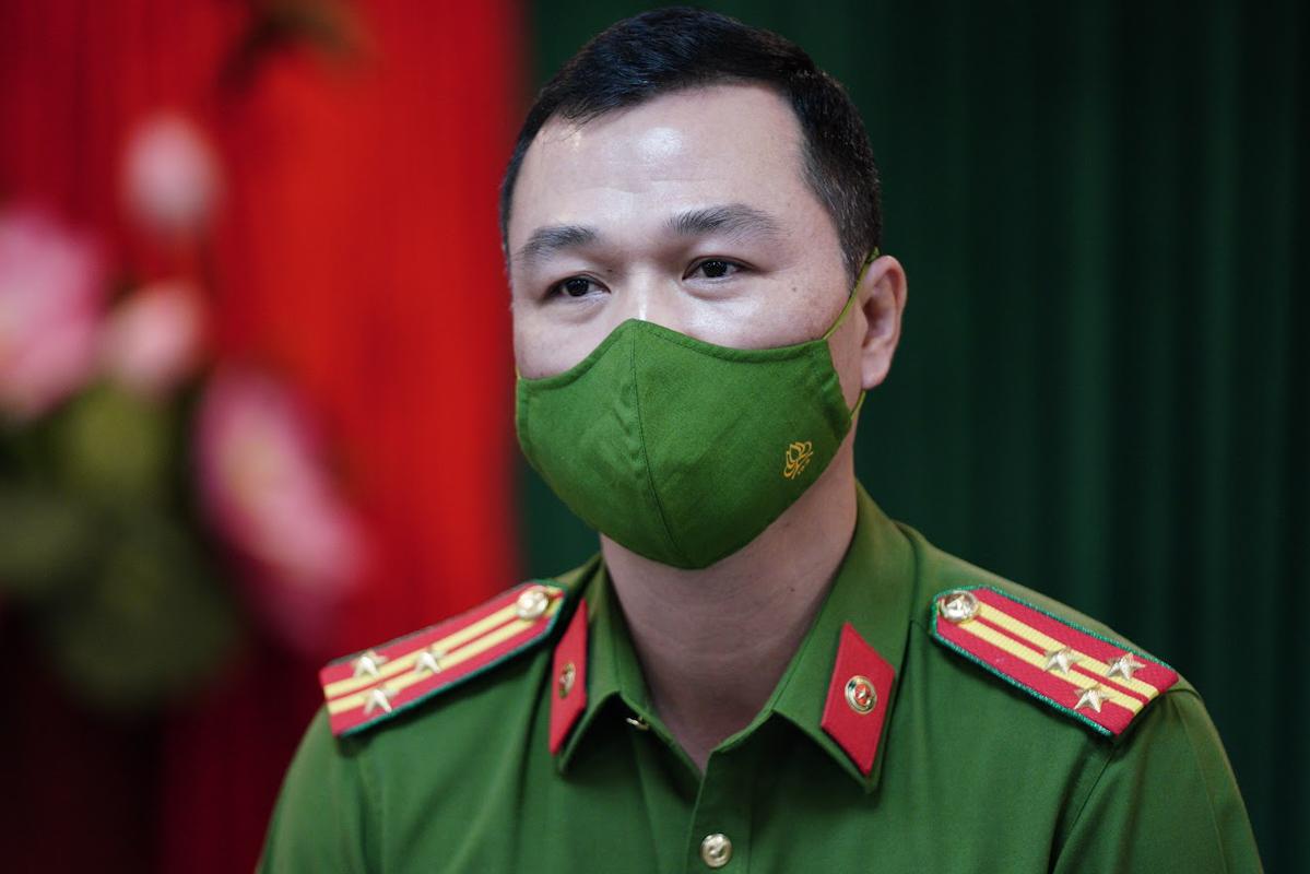 Thượng tá Tô Anh Dũng. Ảnh: Phạm Dự