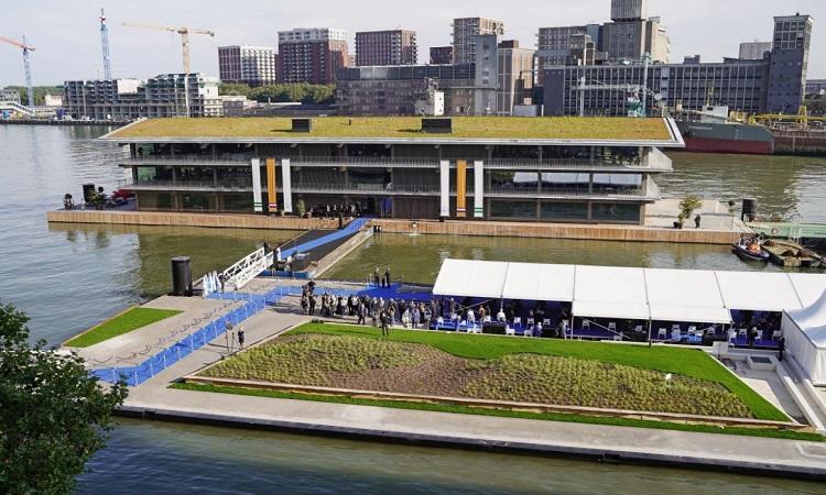 FOR nằm ở Rotterdam, nằm trong nỗ lực tái phát triển cảng Rijnhaven. Ảnh: Công ty Powerhouse