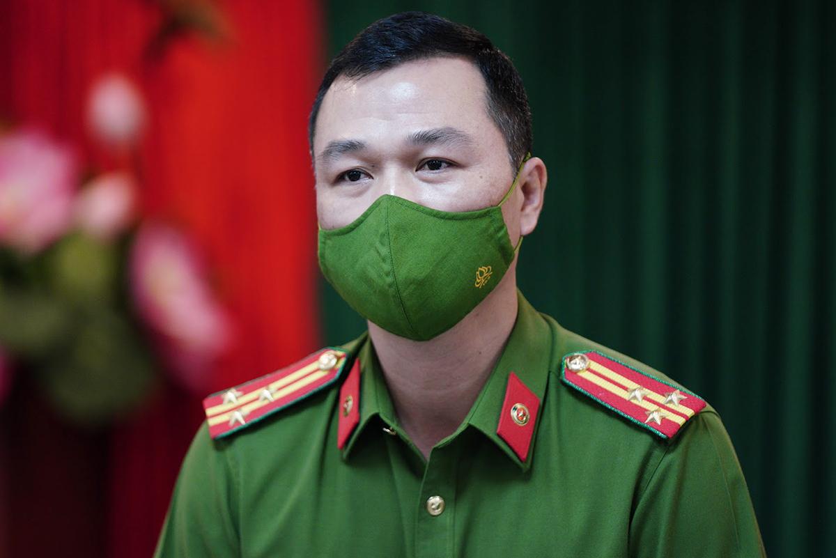 Thượng tá Tô Anh Dũng, Cục phó C06 Bộ Công an. Ảnh: Phạm Dự.