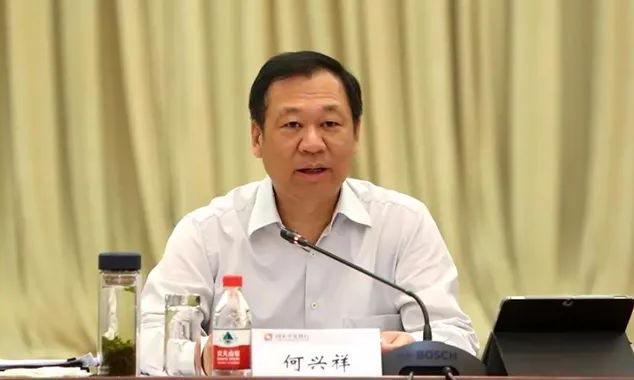 Phó chủ tịch Ngân hàng Phát triển Trung Quốc Hà Hưng Tường. Ảnh: Beijing News.