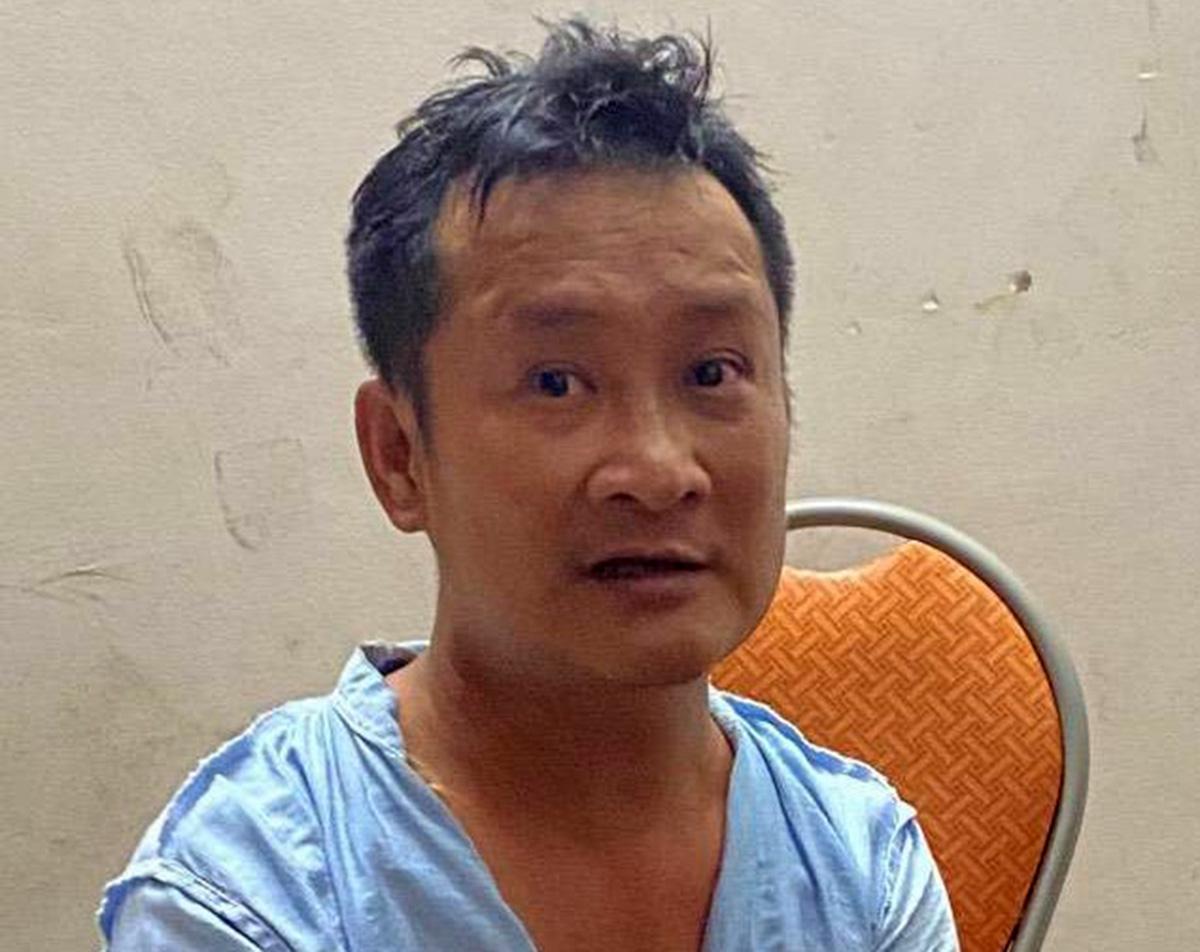Đô Minh Thành bị bắt, với cáo buộc về hành vi giết chết anh Nguyễn Quang Mùi. Ảnh: CTV
