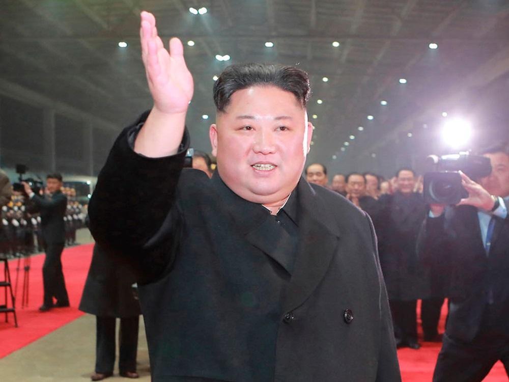 Kim Jong-un tham dự một sự kiện ở Bình Nhưỡng tháng 3/2019. Ảnh: KCNA.
