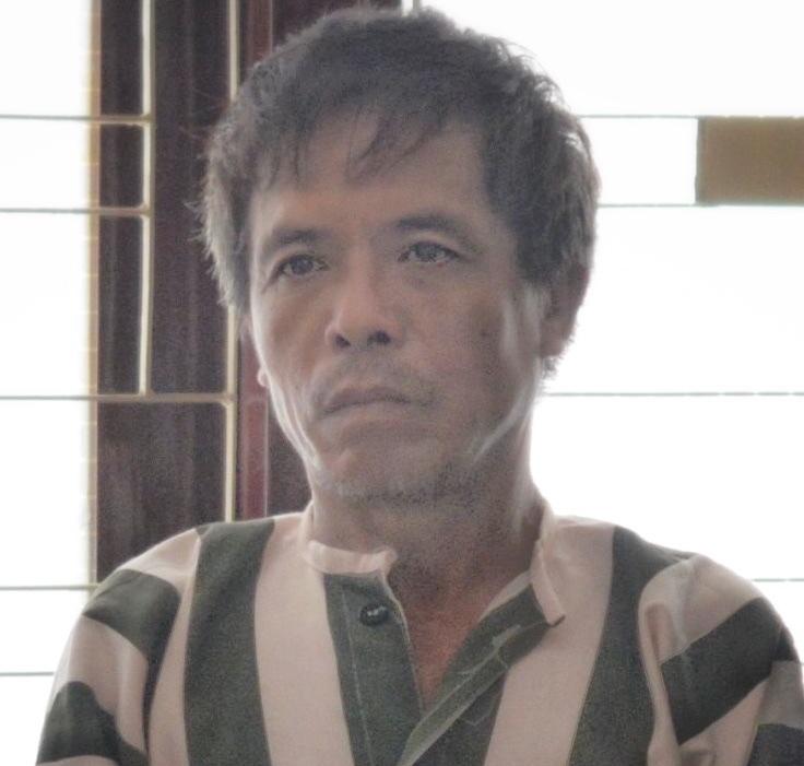 Cao Thanh Xuân lúc bị bắt. Ảnh: Danh Toại