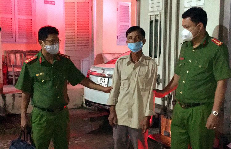 Nguyễn Văn Huệ được di lý về đến Trà Vinh. Ảnh: Châu Thành