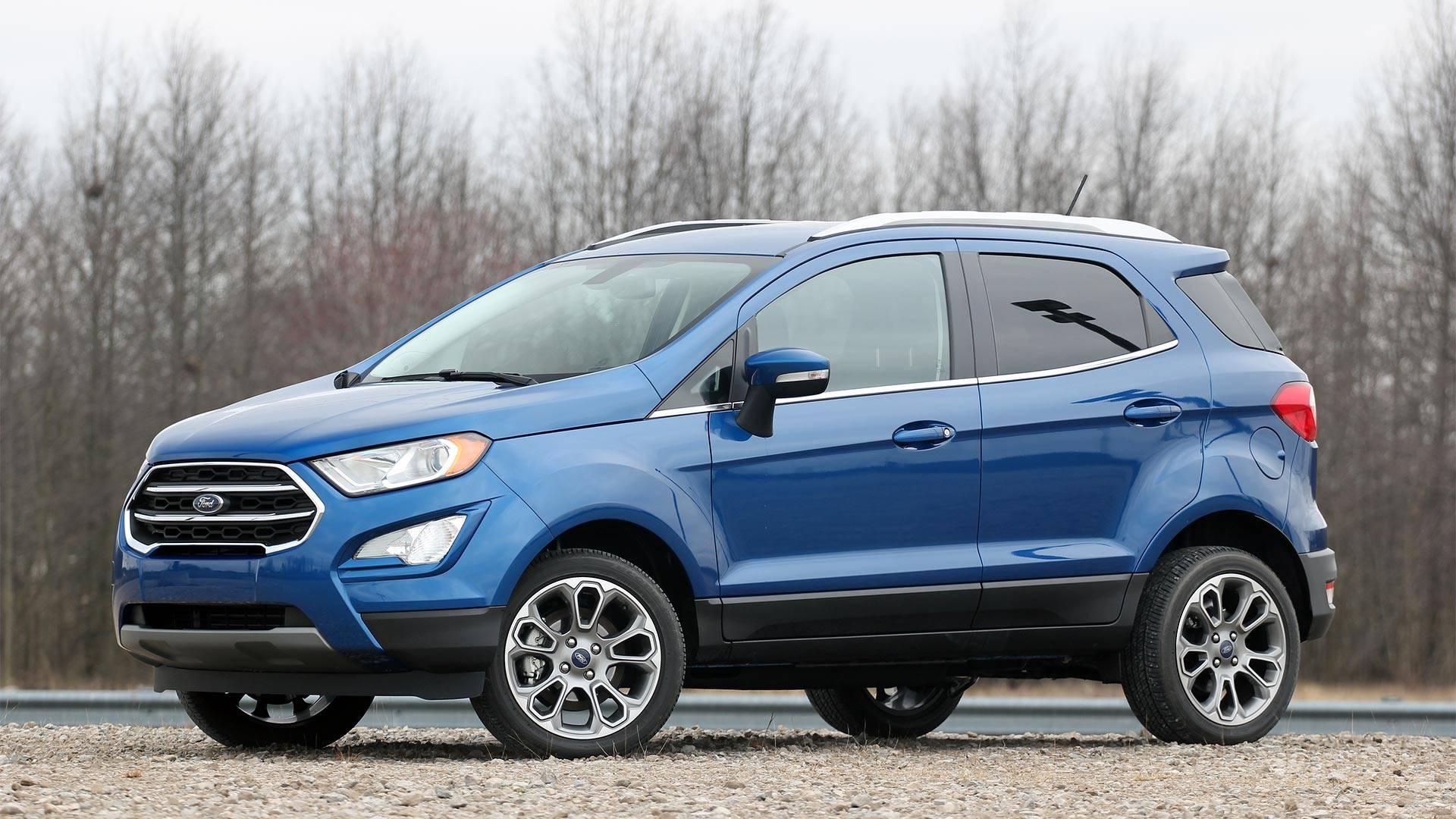 Mẫu EcoSport 2021 tại thị trường Mỹ. Ảnh: Ford