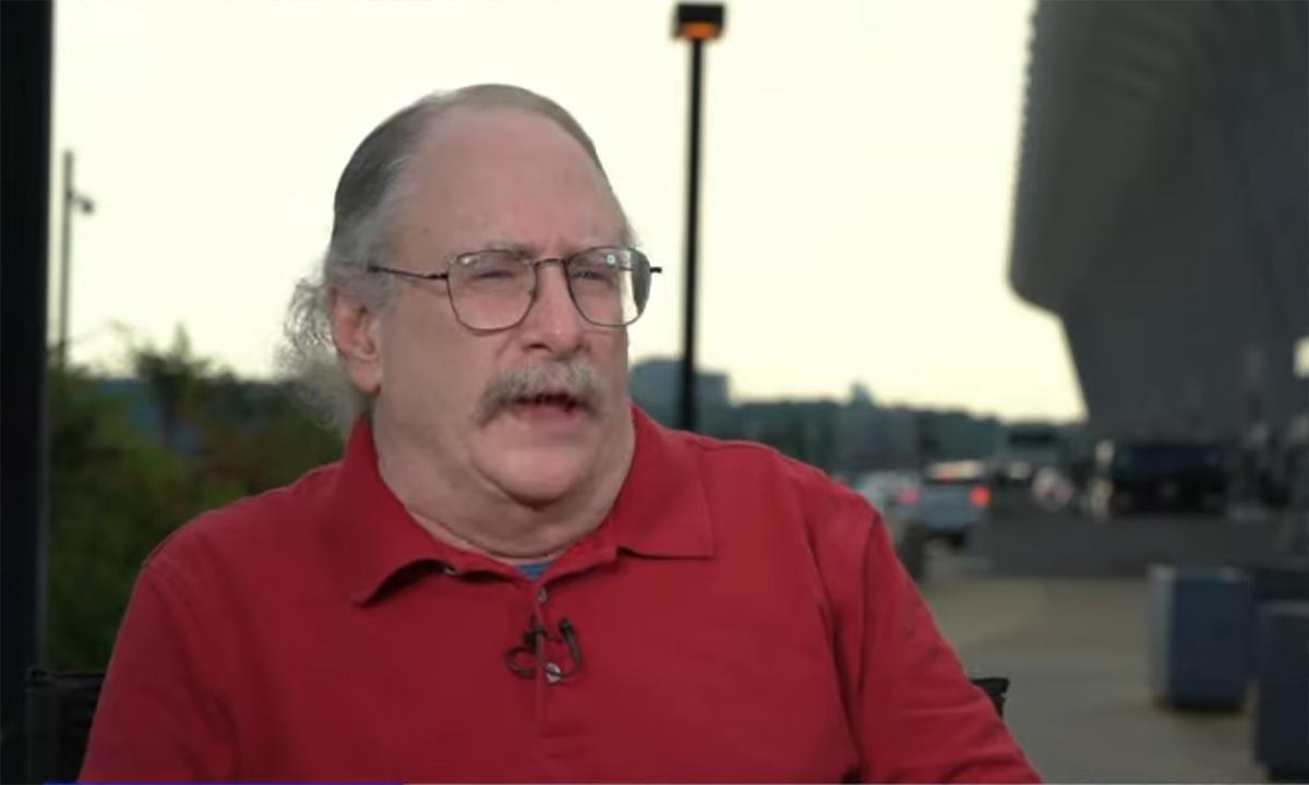 Vaughn Allex trong cuộc phỏng vấn được ABC News phát sóng ngày 9/9. Ảnh: ABC News.