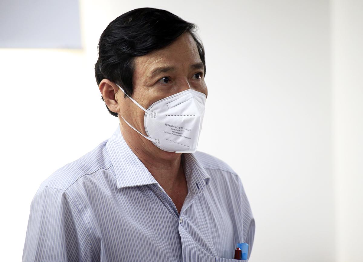 Phó giám đốc Sở Y tế TP HCM Nguyễn Hữu Hưng. Ảnh: Hữu Công