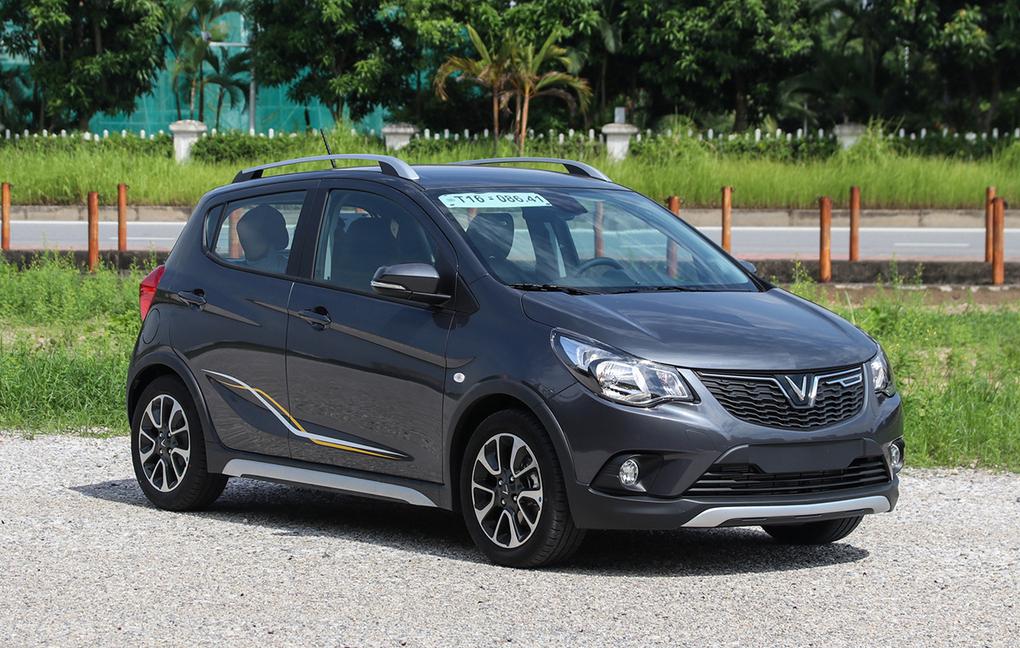 Một mẫu Fadil tại Hà Nội. Trong tháng 8, Fadil là mẫu xe duy nhất có doanh số trên 1.000 xe. Ảnh: Đức Huy