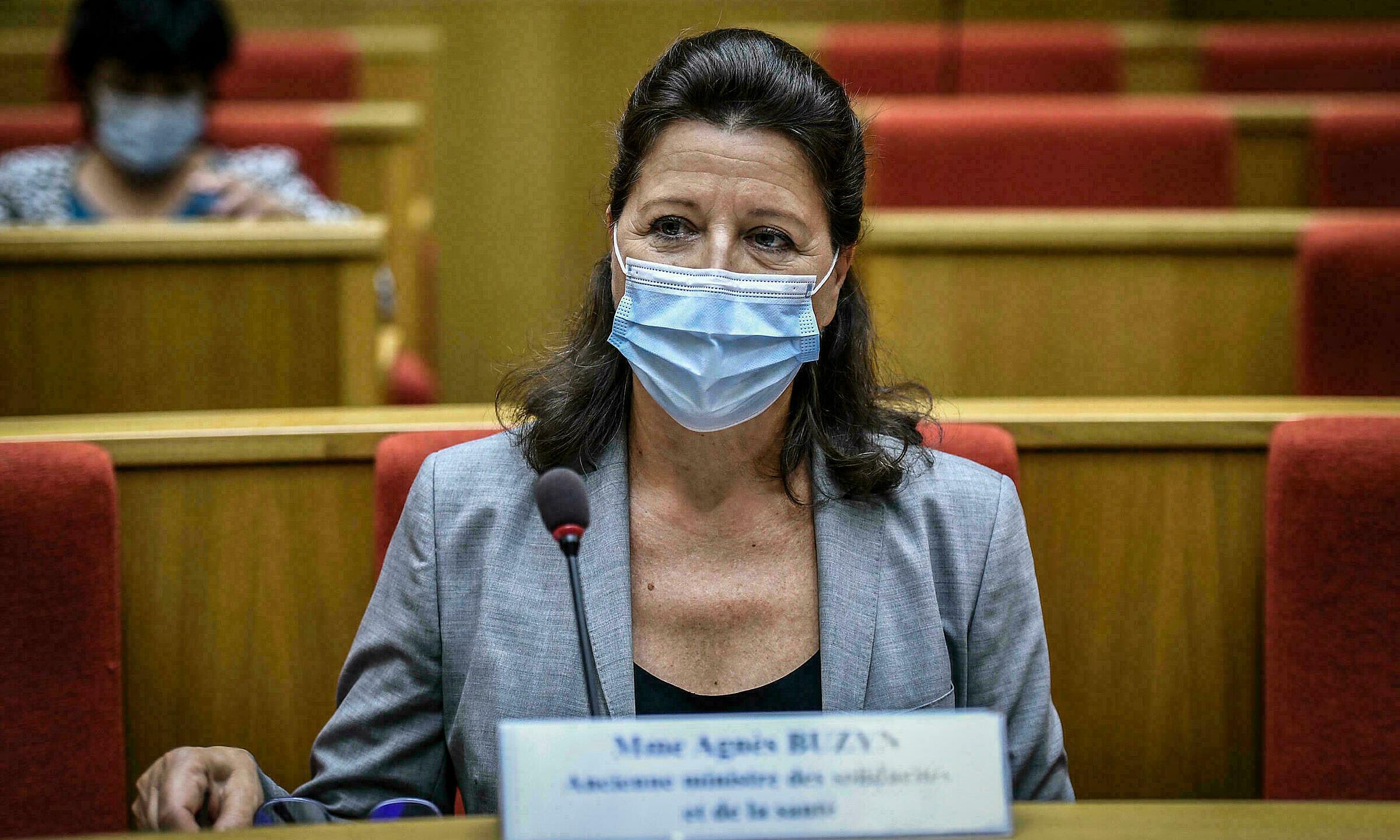 Cựu bộ trưởng y tế Pháp Agnès Buzyn trả lời chất vấn trước Thượng viện vào tháng 9/2020. Ảnh: AFP.