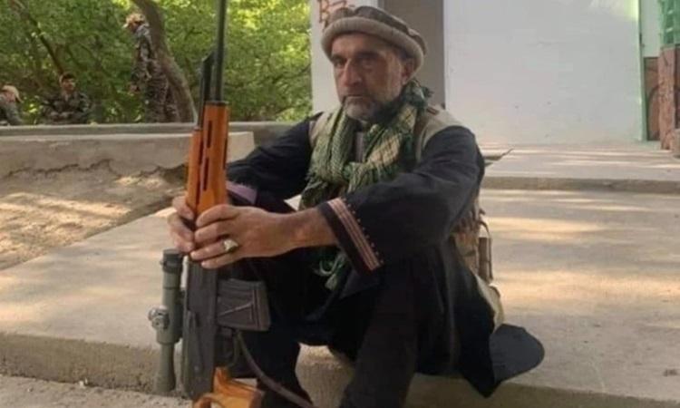 Rohullah Saleh, anh trai cựu phó tổng thống Afghanistan Amrullah Saleh. Ảnh: Twitter/Amar Ujala.