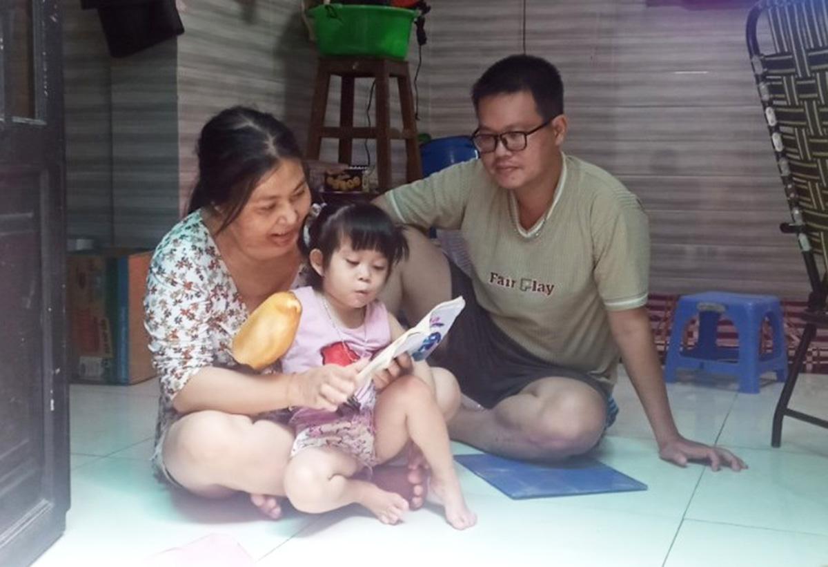 Hơn 3 tháng, gia đình chị Lan Anh chưa nhận được hỗ trợ. Ảnh: An Phương