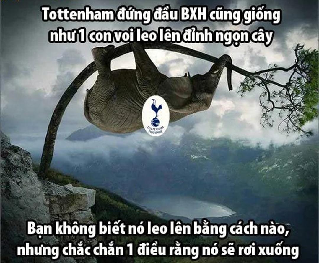 Tottenham chưa bao giờ tạo cảm giác an toàn khi đứng đỉnh bảng.