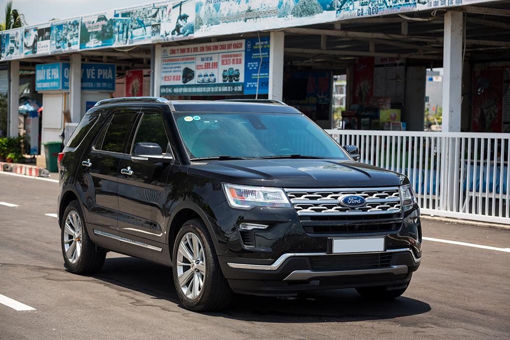 Explorer bản gần nhất được bán tại Việt Nam. Ảnh: Ford