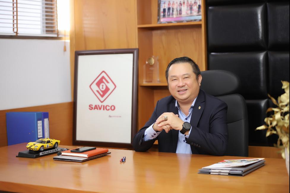 Ông Phan Dương Cửu Long, Tổng giám đốc Công ty Cổ phần Dịch vụ Tổng hợp Sài Gòn (Savico).