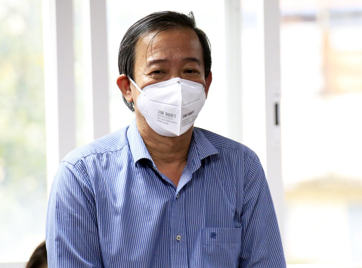 Phó giám đốc Sở Y tế TP HCM Nguyễn Văn Vĩnh Châu. Ảnh: Hữu Công