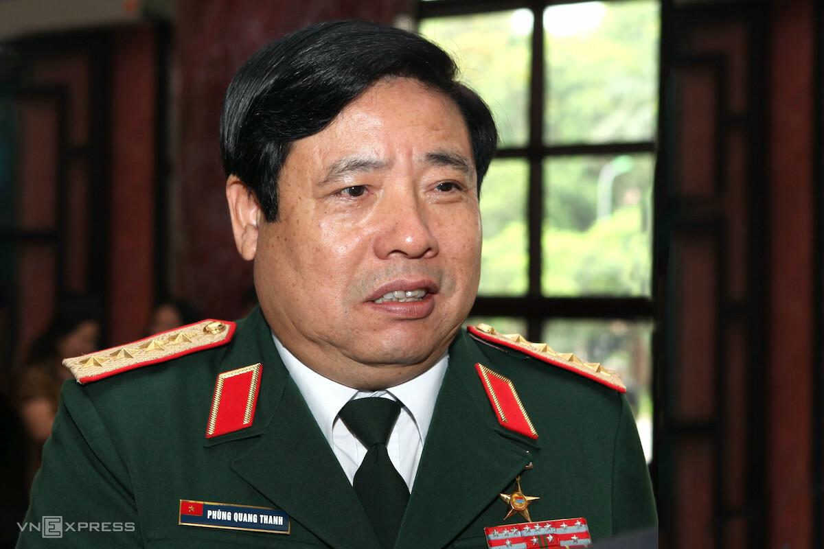 Nguyên Bộ trưởng Quốc phòng Phùng Quang Thanh. Ảnh: Hoàng Phong
