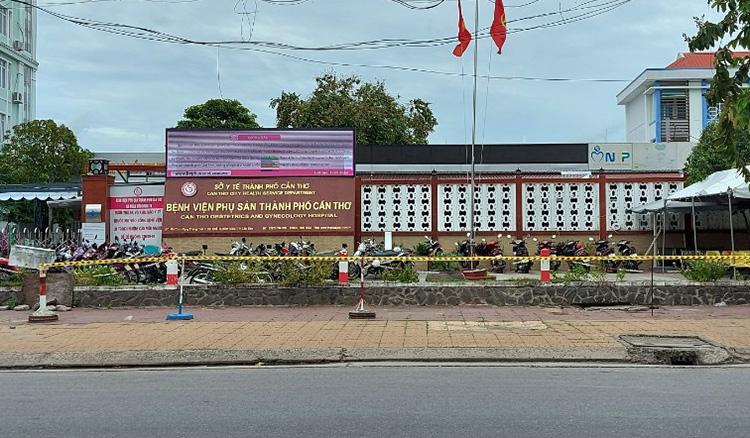 Bệnh viện phụ sản TP Cần Thơ. Ảnh: Cửu Long
