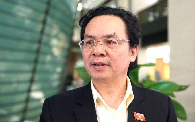 Đại biểu Hoàng Văn Cường. Ảnh: Hoàng Phong