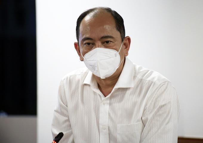 Ông Tăng Chí Thượng tại cuộc họp báo về công tác phòng chống Covid-19 tối 10/7. Ảnh: Hữu Công