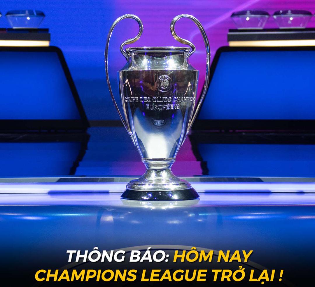 Đêm nay Champions League chính thức trở lại với những cặp đấu rất được mong đợi.