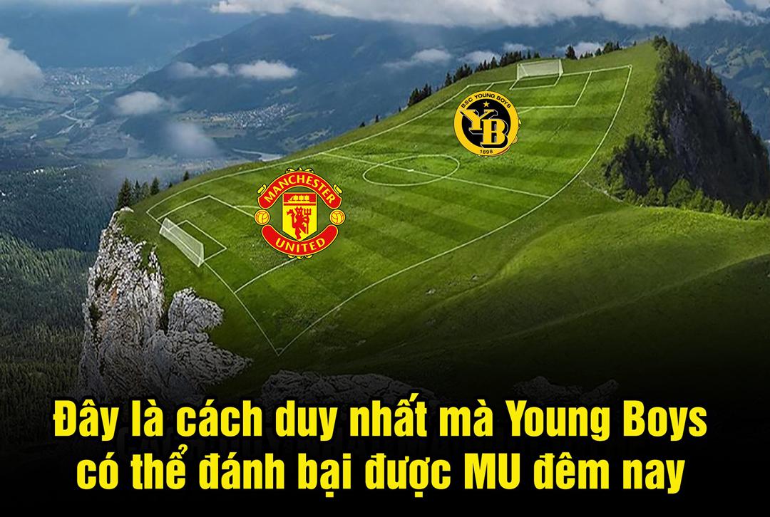 Man Utd chỉ phải gặp đội bóng Young Boys và chỉ có cách này mới khiến quỷ đỏ thất bại.