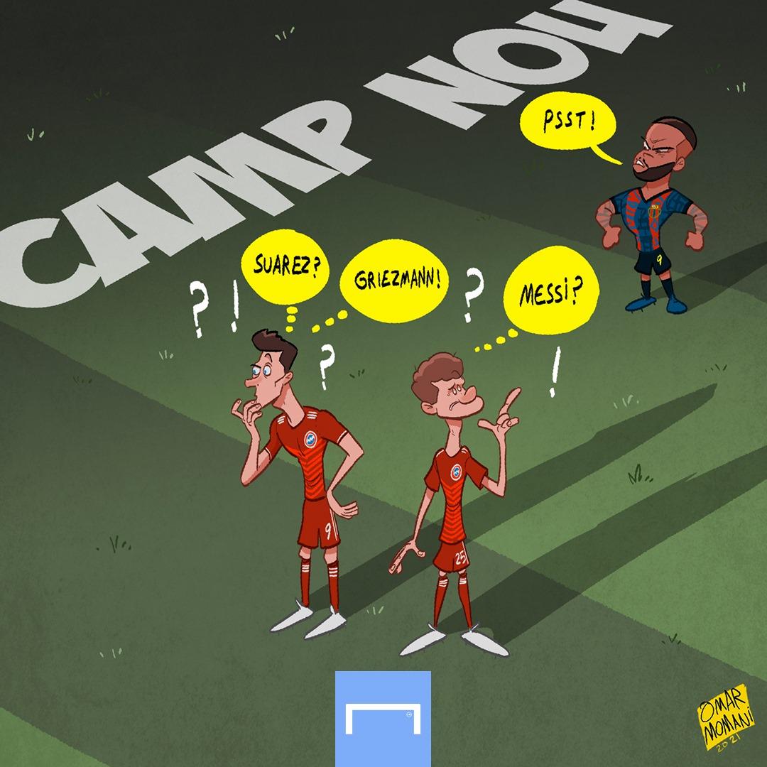 Barca giờ đây đã khác xưa rất nhiều, không còn những ngôi sao sáng Messi, Suarez hay Griezmann.
