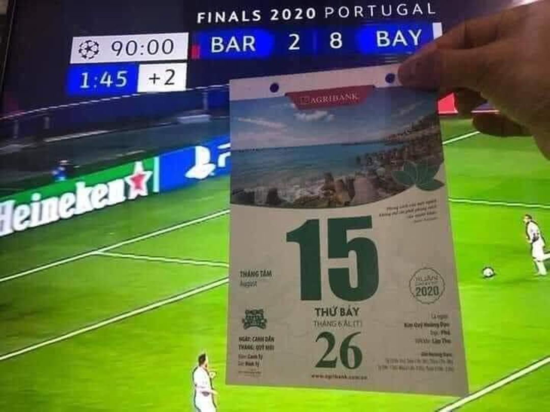 Ký ức khó quên với fan Barca.