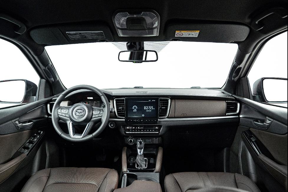 Nội thất Mazda BT-50 thế hệ mới.