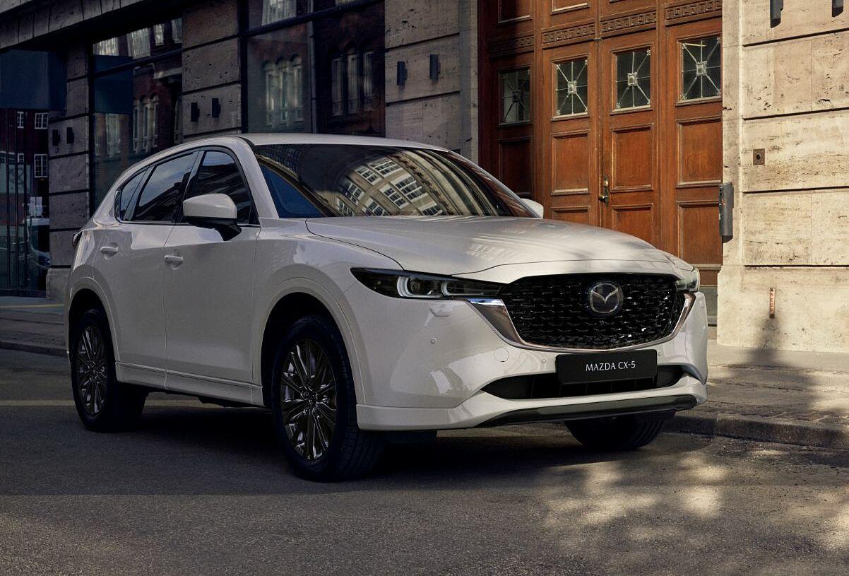 CX-5 2022 là bản nâng cấp giữa chu kỳ. Ảnh: Mazda