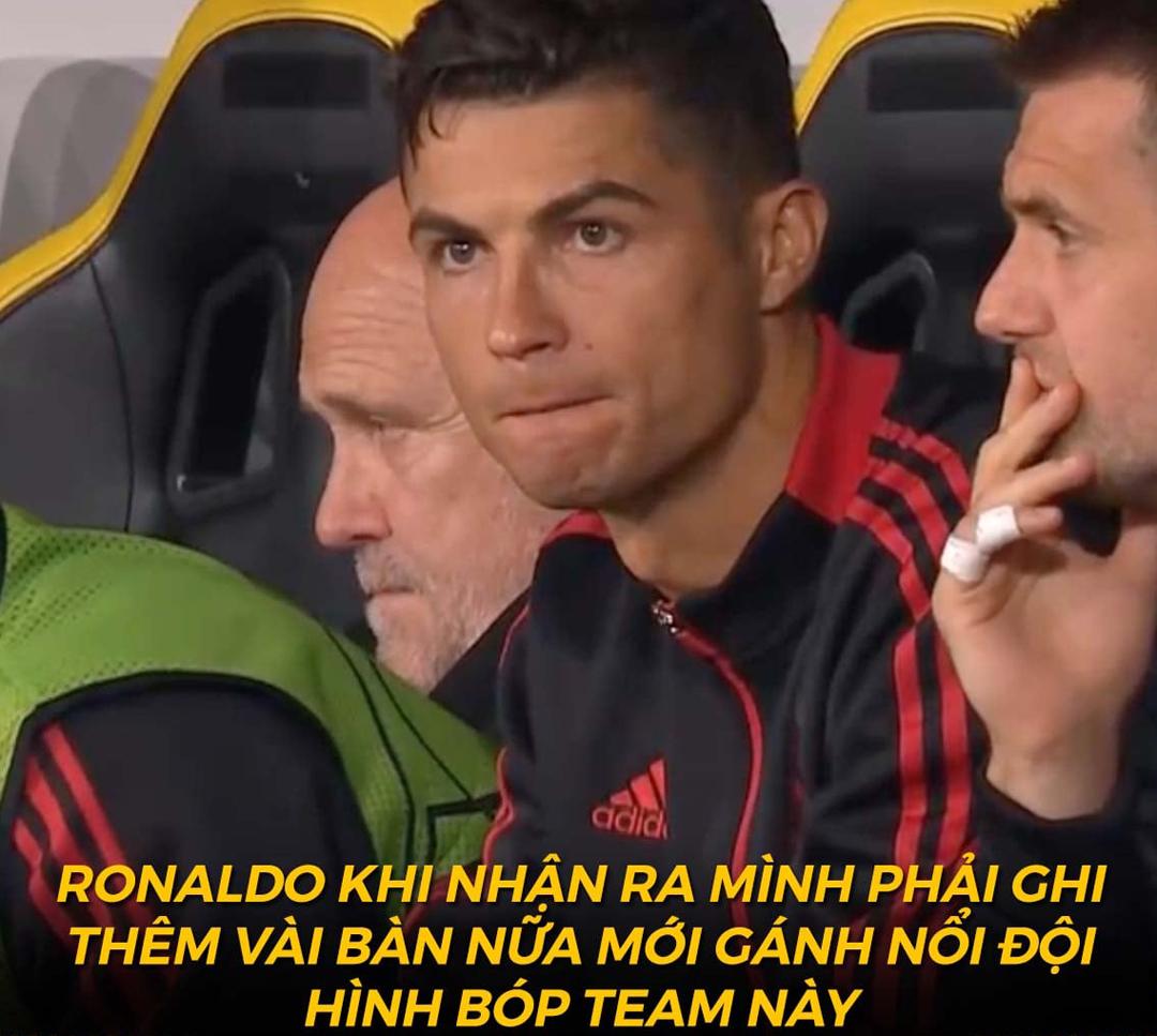 Lỗi là do Ronaldo không ghi được nhiều bàn.