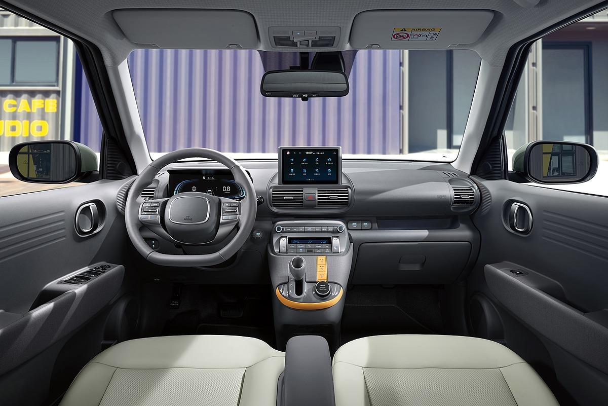Thiết kế nội thất của Casper. Ảnh: Hyundai
