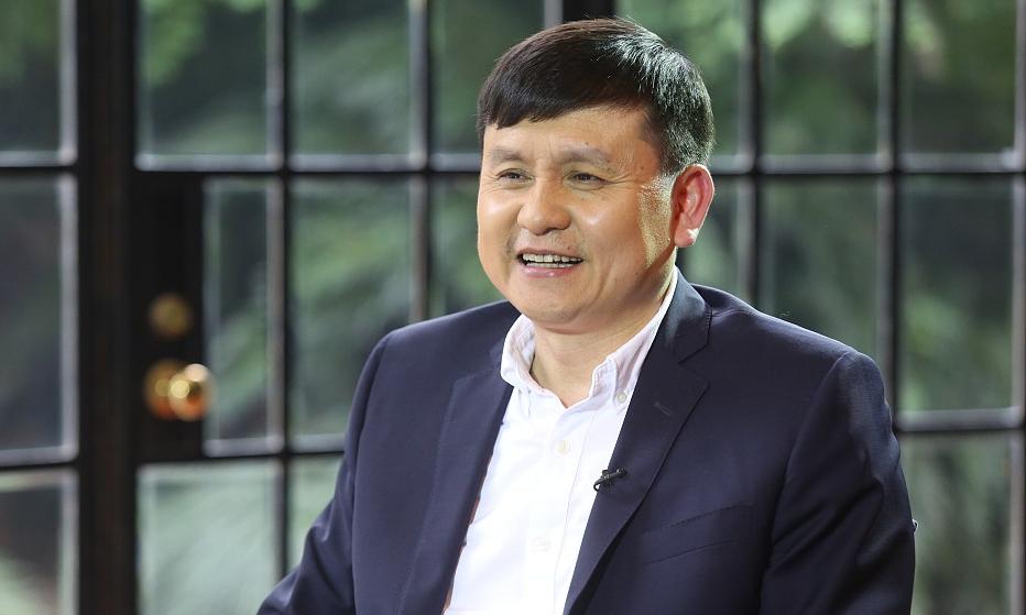 Tiến sĩ Trương Văn Hồng, người đứng đầu hội đồng chuyên gia về Covid-19 của thành phố Thượng Hải, Trung Quốc. Ảnh: CGTN.