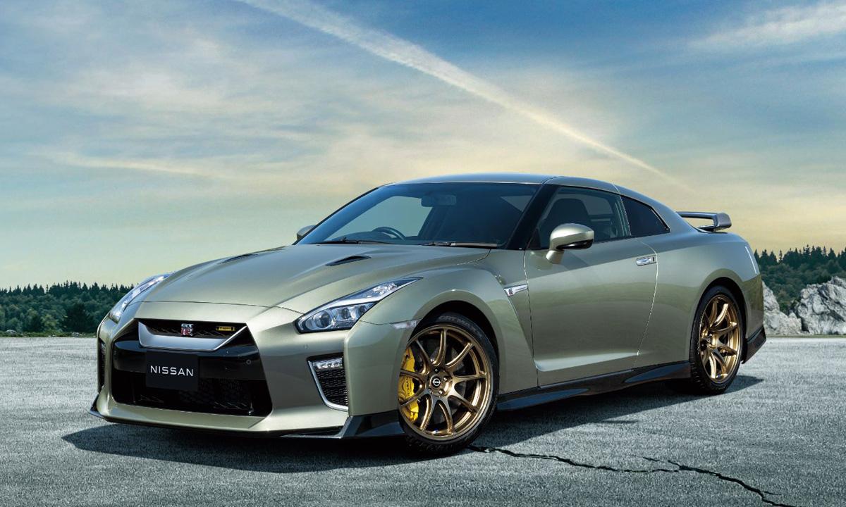 GT-R bản đặc biệt mới cho hai thị trường Nhật Bản và Mỹ. Ảnh: Nissan