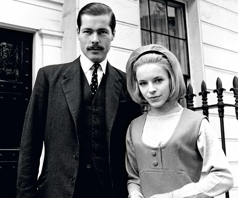 Bá tước Lucan và vợ, Veronica. Ảnh: The Times