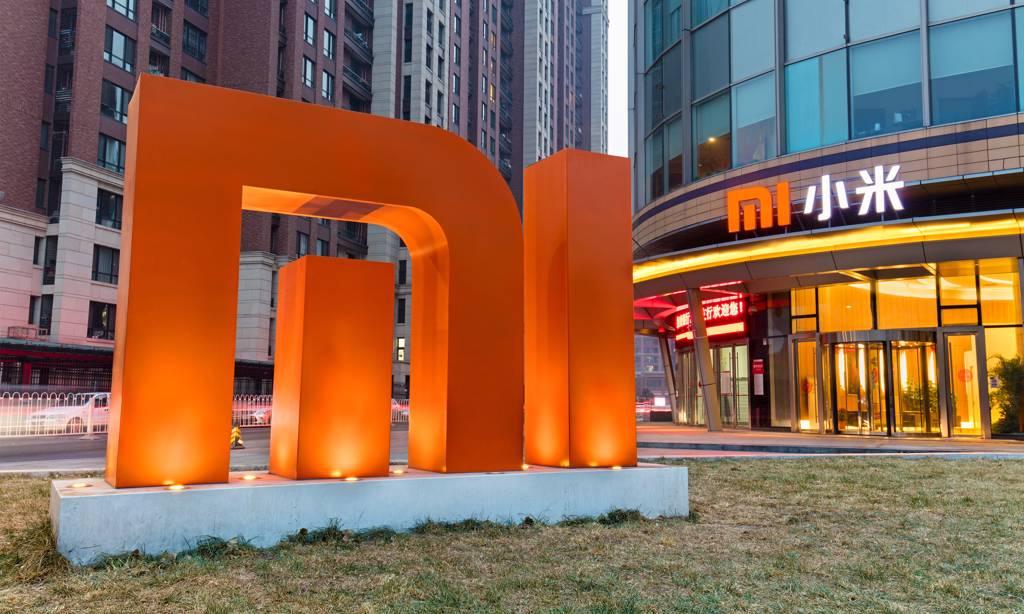 Chữ Mi trước trụ sở của Xiaomi ở Bắc Kinh, Trung Quốc. Ảnh: Shutterstock