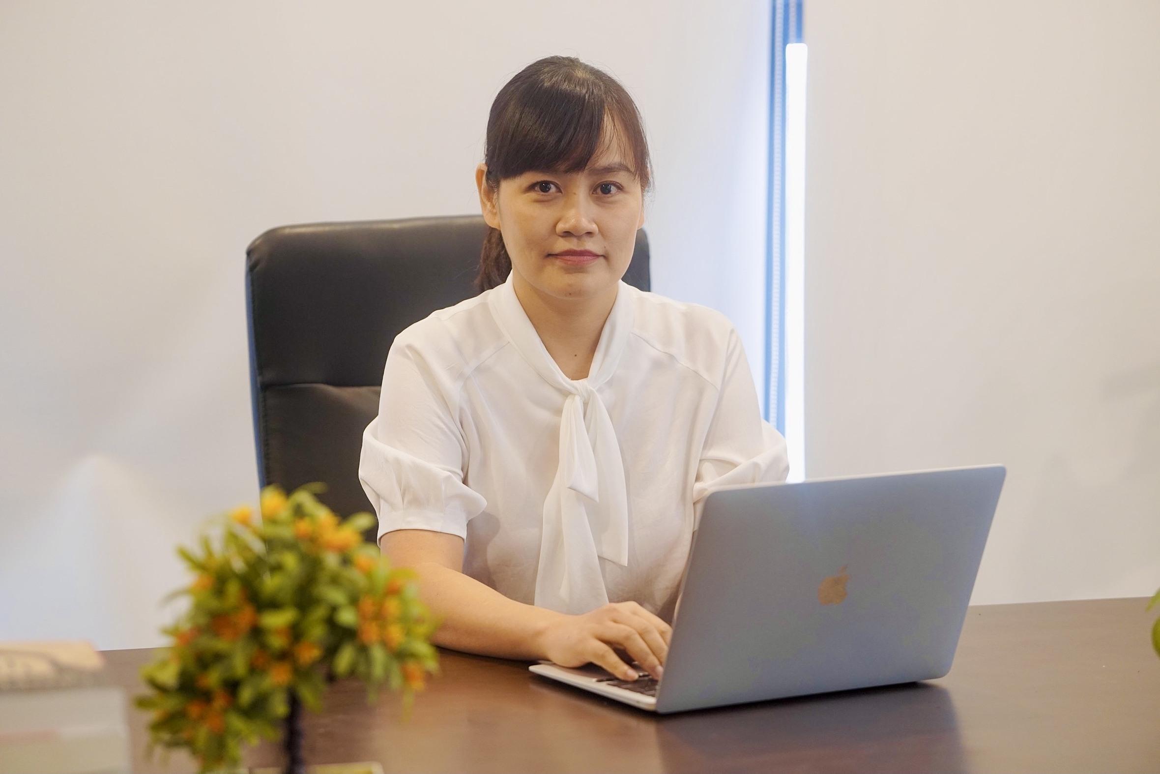 Cô Nguyễn Thị Quỳnh Hoa - Chủ nhiệm bộ môn tiếng Anh Đại học FPT Hà Nội.