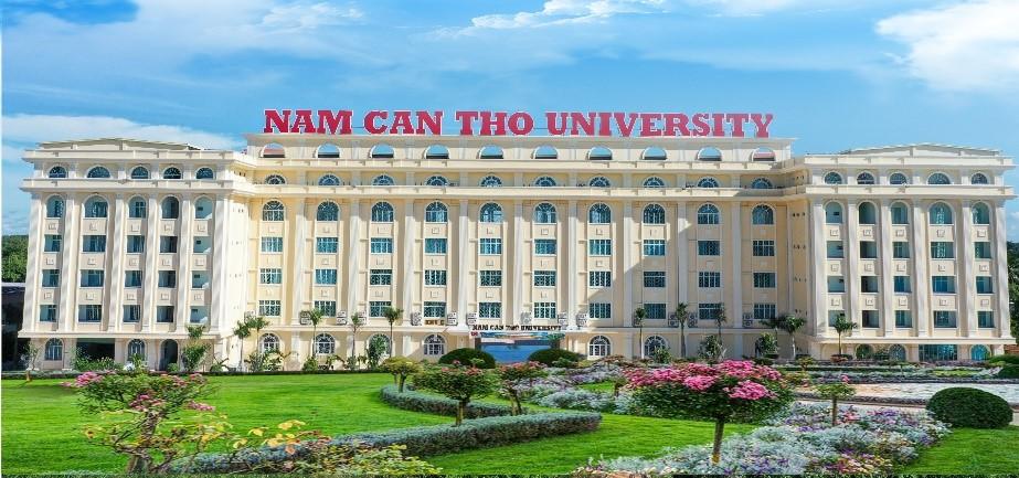 Khuôn viên Đại học Nam Cần Thơ.