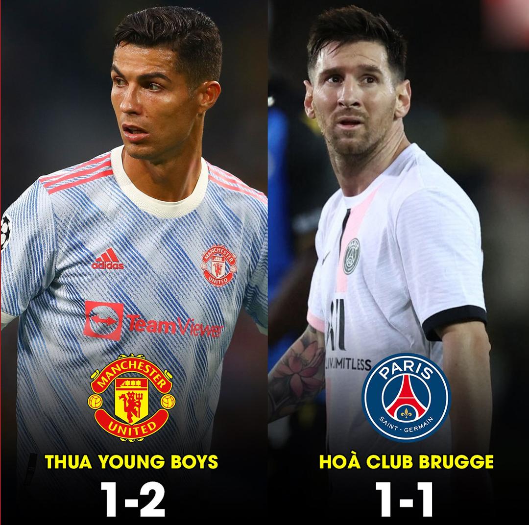 Cùng với Ronaldo, Messi cũng rơi vào hoàn cảnh chẳng lấy gì làm vui vẻ.